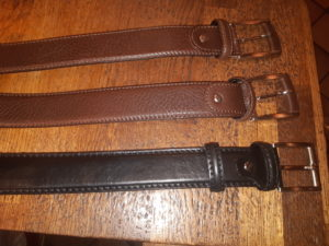 Custom order - three belts (shipping costs included)